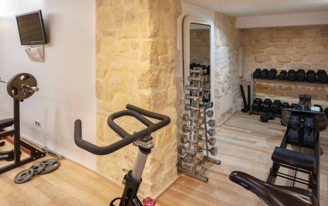 Fitnessruimte van hotel Le 123 Sebastopol - Astotel in Parijs