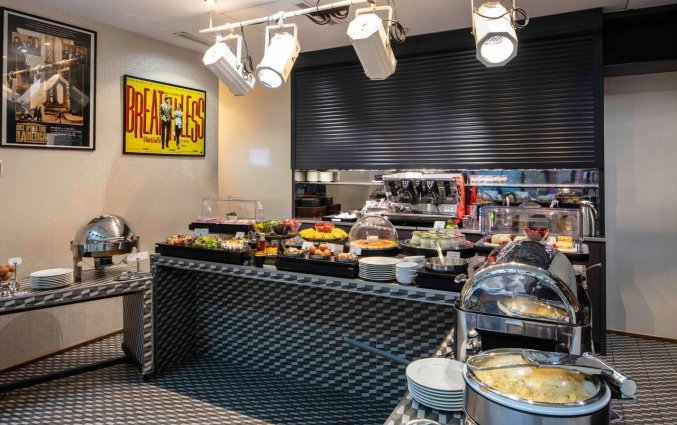 Ontbijtzaal van hotel Le 123 Sebastopol - Astotel in Parijs