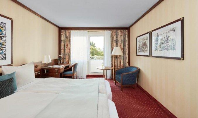 Slaapkamer van hotel Living Hotel Berlin Mitte