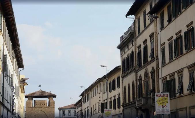 Buitenkant van Aparthotel Residence Porta Al Prato in Florence