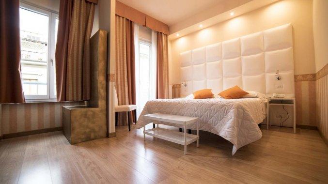 Tweepersoonskamer van Hotel Jane in Florence