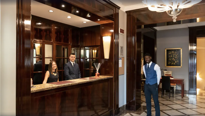 Receptie in hotel San Gallo Palace