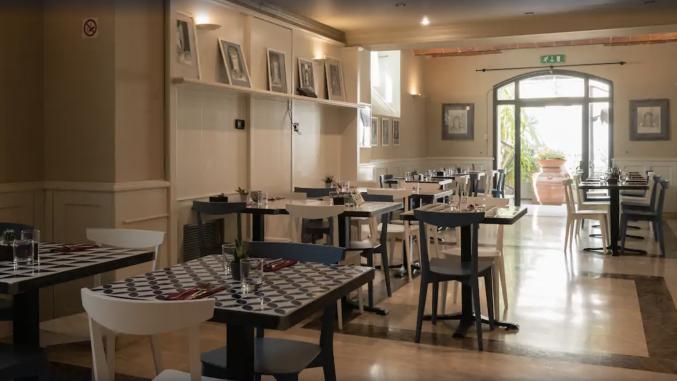Restaurant in hotel San Gallo Palace