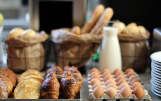 Ontbijt van C-Hotels Club in Florence