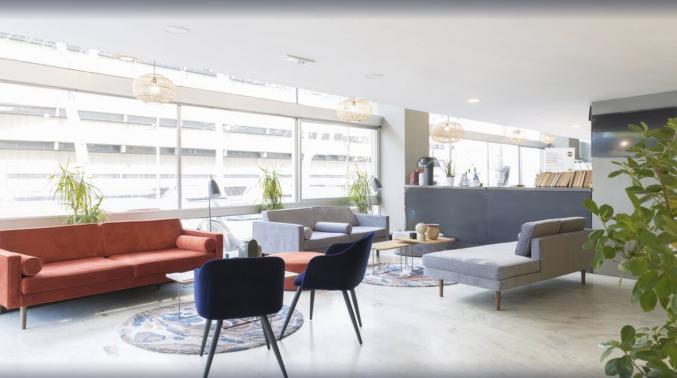 Lounge in hotel B&B Firenze City Center