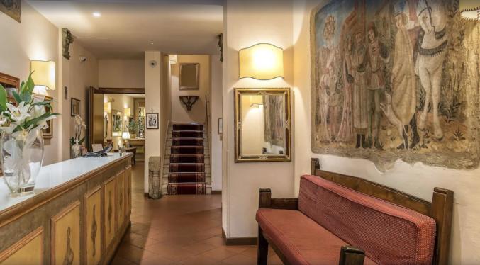 Receptie in Hotel Machiavelli Palace