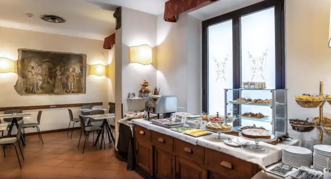 Restaurant in Hotel Machiavelli Palace
