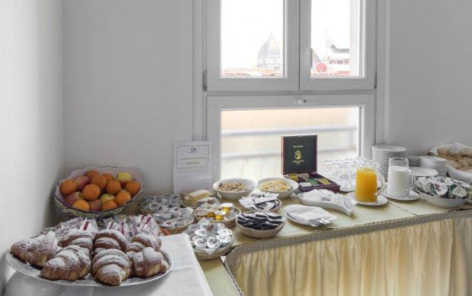 Ontbijt bij hotel Cantoria Florence