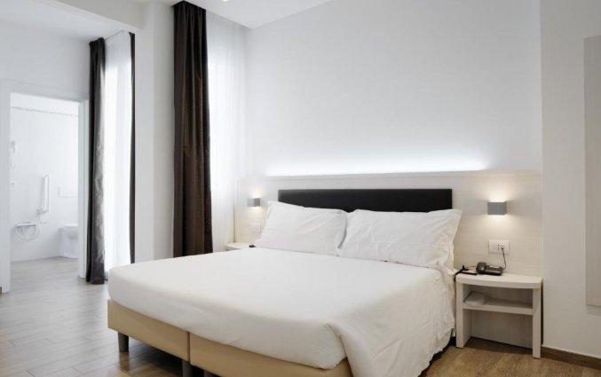 Tweepersoonskamer bij hotel Cantoria Florence
