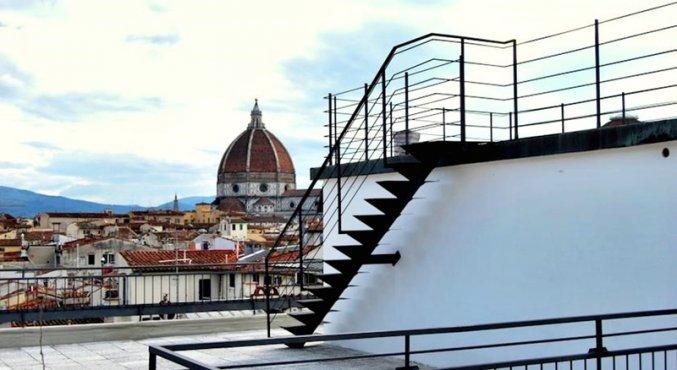 uitzicht bij hotel Cantoria Florence