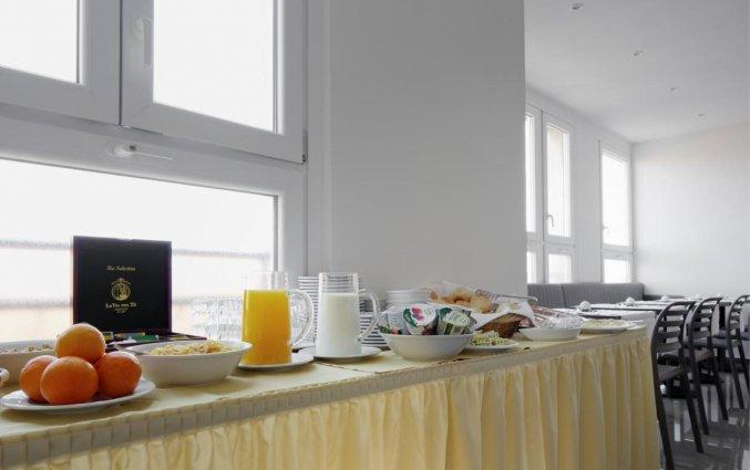 Ontbijtzaal van hotel Cantoria