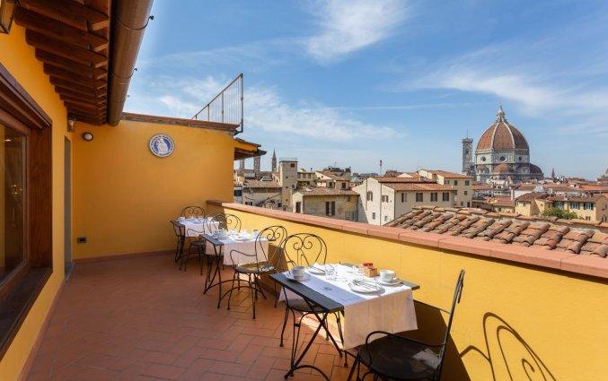 Daketerras van Hotel Palazzo Graziani in Florence