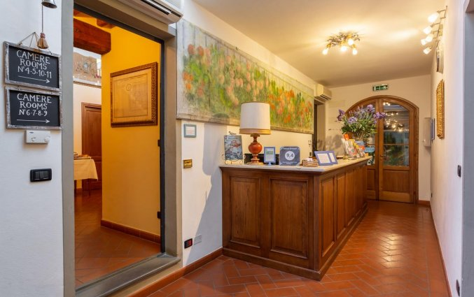 Receptie van Hotel Palazzo Graziani in Florence