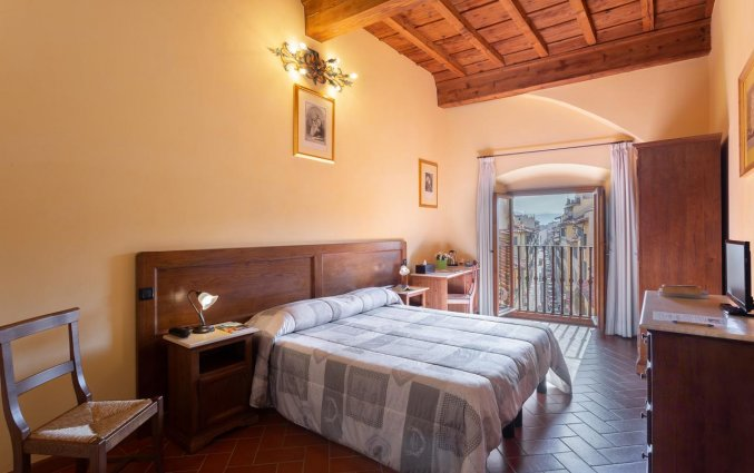 Tweepersoonskamer van Hotel Palazzo Graziani in Florence