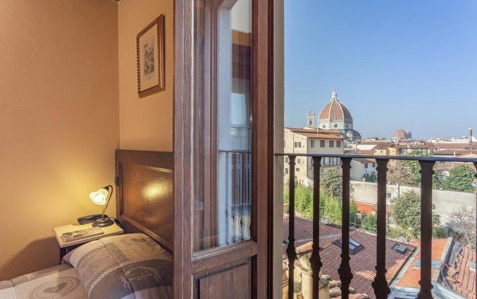 Uitzicht vanuit een kamer van Hotel Palazzo Graziani in Florence