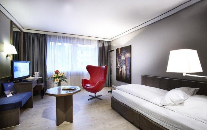 Tweepersoonskamer van Hotel Düsseldorf City by Tulip Inn in Düsseldorf