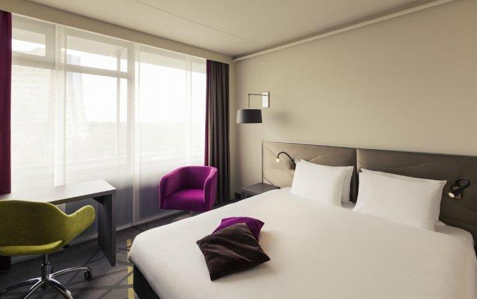 Slaapkamer van Mercure City Groningen Martiniplaza Hotel