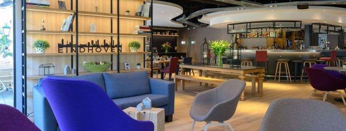 Lobby van Hotel Campanile Eindhoven