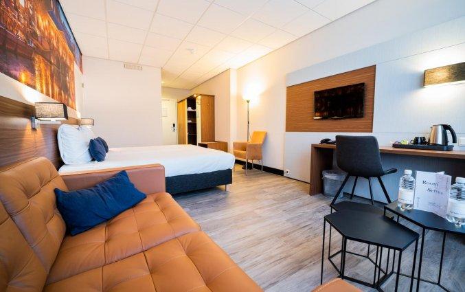 Tweepersoonskamer van Hotel Tulip Inn Leiden Centre in Leiden