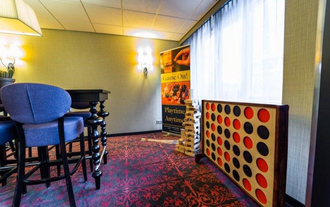 Spelletjeskamer van Hotel Tulip Inn Leiden Centre in Leiden