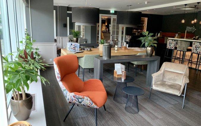 Lounge van Hotel Tulip Inn Leiden Centre in Leiden