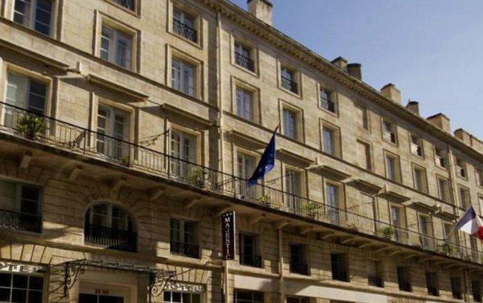 Gebouw van Hotel Majestic in Bordeaux