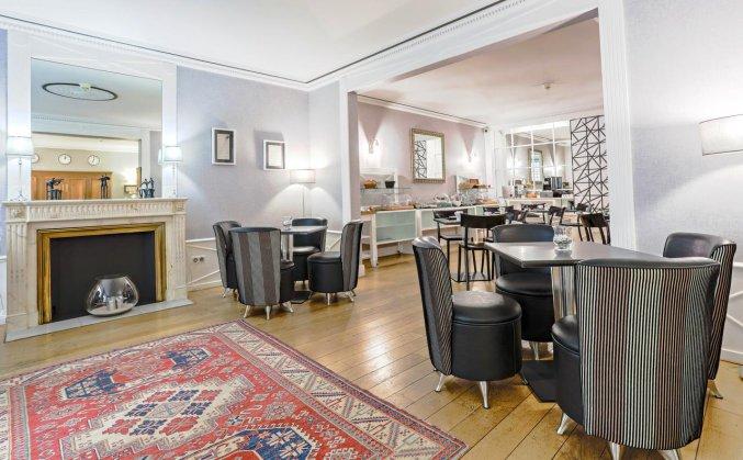 Ontbijbuffet van Hotel Majestic in Bordeaux