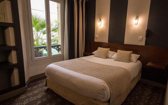 Tweepersoonskamer van Hotel Majestic in Bordeaux