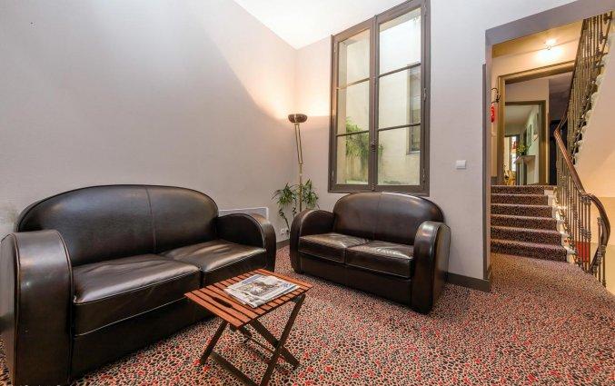 Lounge van Hotel Gambetta in Bordeaux