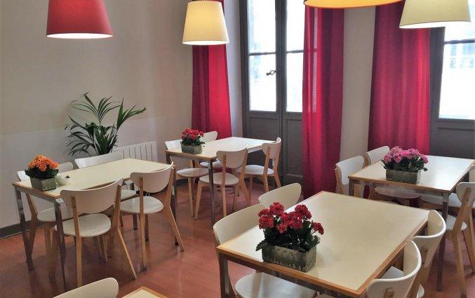 Eetzaal van Hotel Gambetta in Bordeaux