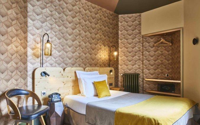 Tweepersoonkamer van Hotel Konti by HappyCulture in Bordeaux