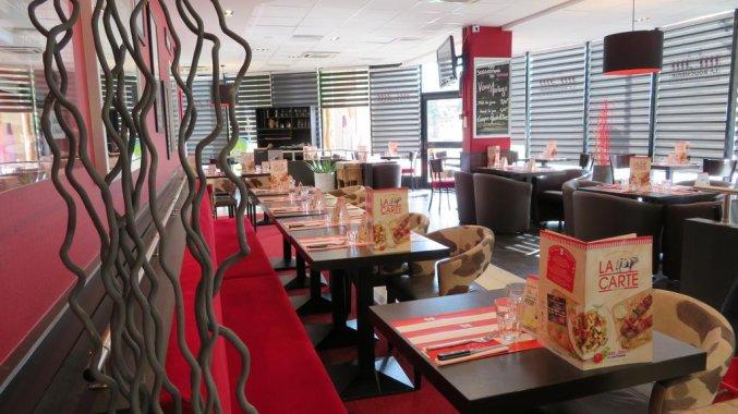 Restaurant van Hotel Ibis Styles Bordeaux Meriadeck