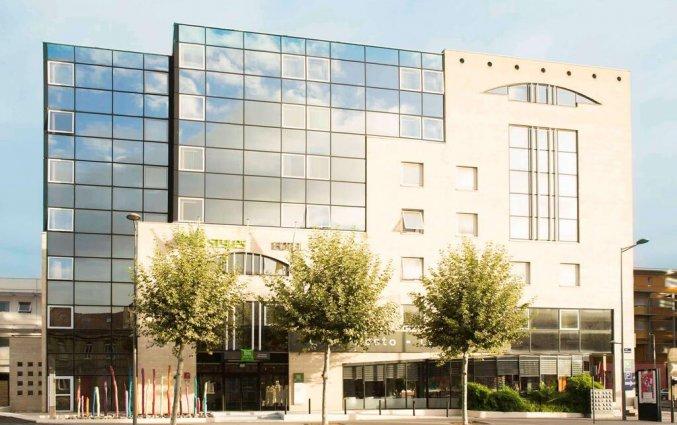 Vooraanzicht van Hotel Ibis Styles Bordeaux Meriadeck