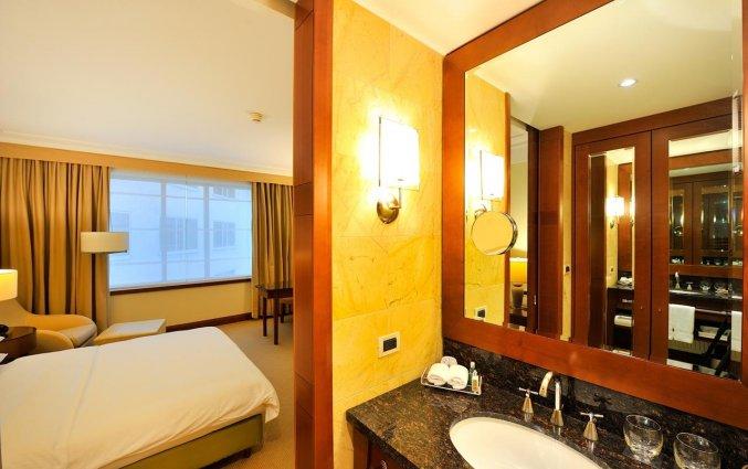 Badkamer van Hotel Regent in Warschau