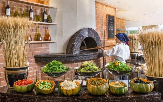Open keuken van Hotel Regent in Warschau