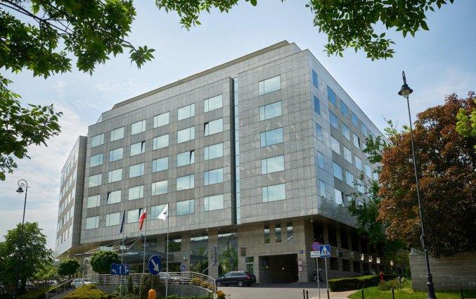 Gebouw van Hotel Regent in Warschau