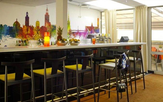 Bar in hotel Scandic Norra Bantorget in Noorwegen