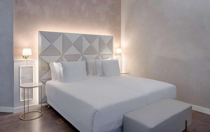 Tweepersoonskamer van hotel NH Collection Palazzo Verona