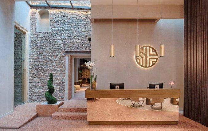 Receptie van hotel NH Collection Palazzo Verona