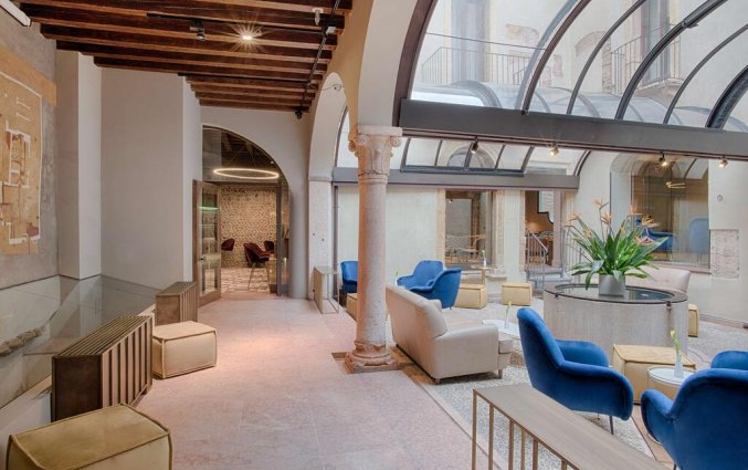 Lounge van hotel NH Collection Palazzo Verona