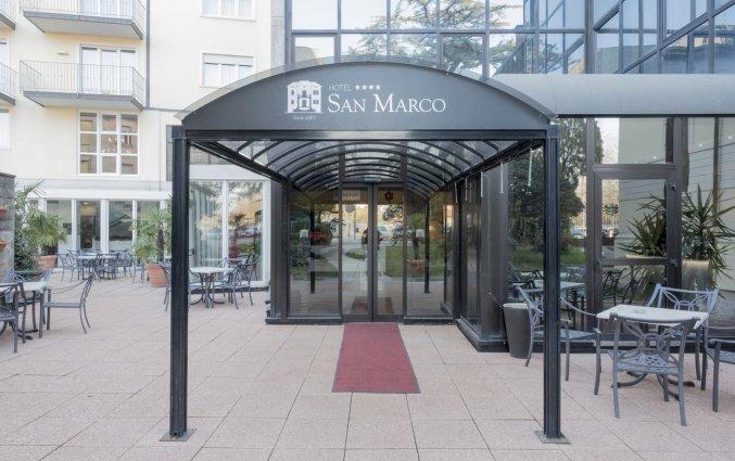 Ingang van Hotel San Marco Fitness Pool & Spa Verona