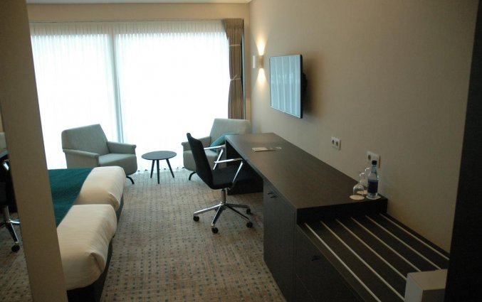 Tweepersoonskamer van Hotel Restaurant Weinebrugge