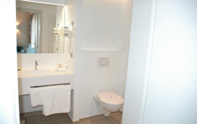 Badkamer van Hotel Restaurant Weinebrugge