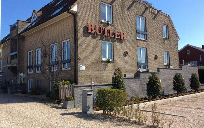 Buitenaanzicht van Hotel Butler Brugge