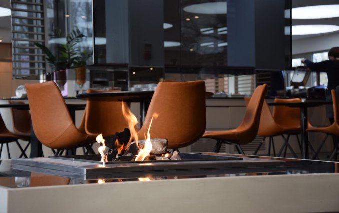Restaurant van Hotel Velotel in Brugse Ommeland