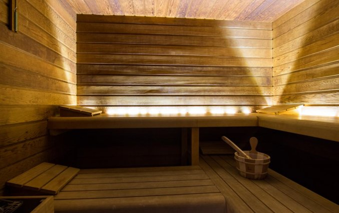 Sauna van Hotel Velotel in Brugse Ommeland