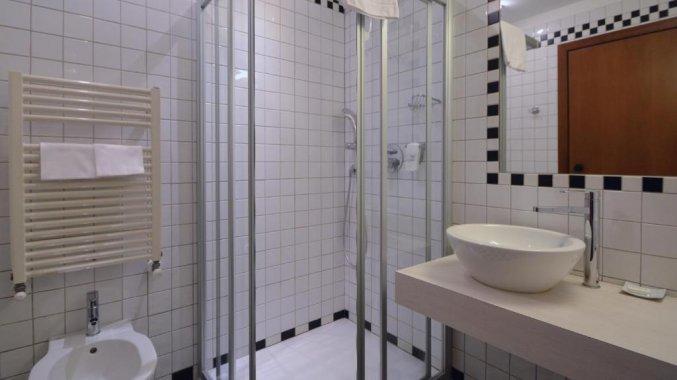 Badkamer Best Western Hotel Crimea in Turijn