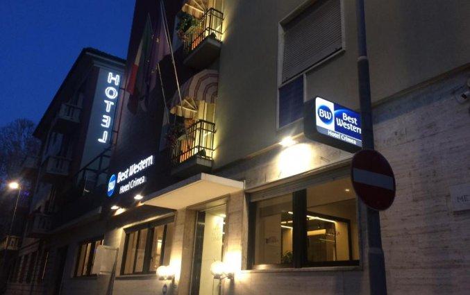 Ingang Best Western Hotel Crimea in Turijn