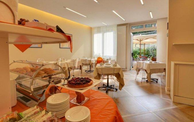 Ontbijtzaal Best Western Hotel Crimea in Turijn