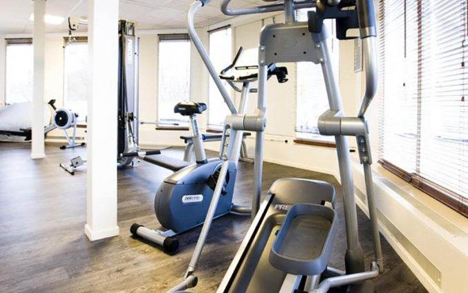 Fitnessruimte van Berghotel Best Western Plus Amersfoort in de Utrechtse Heuvelrug